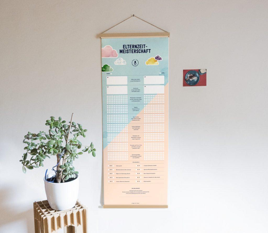 Geschenkposter: Die Elternzeit-Meisterschaft von 111 Dinge